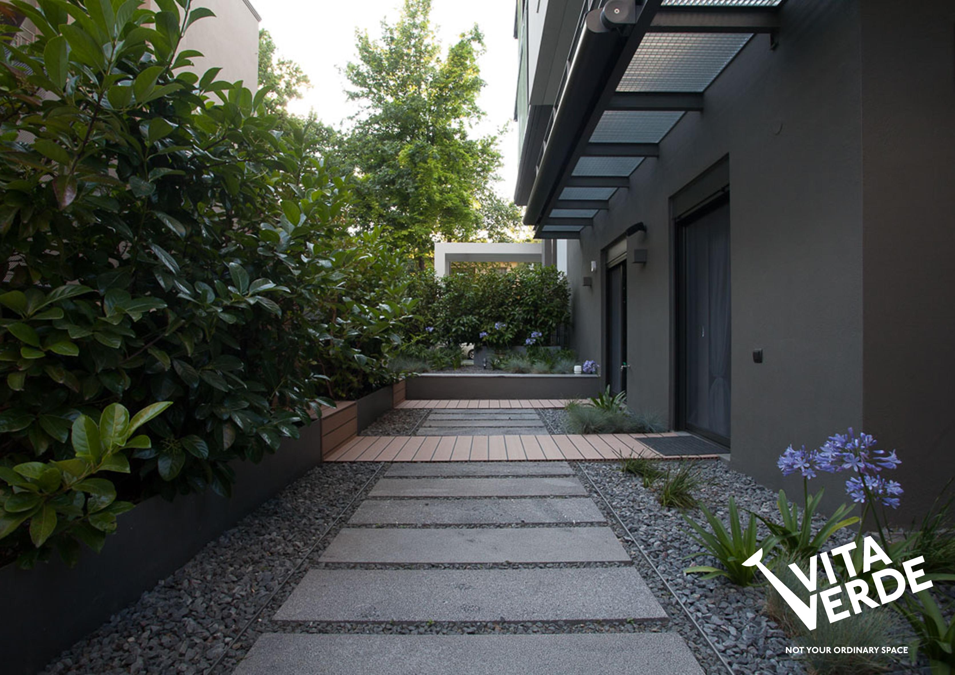 Side view Sofouli garden