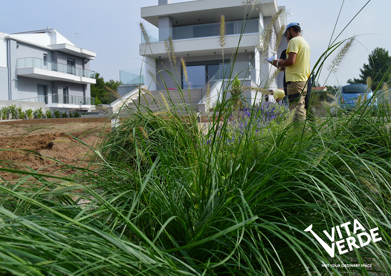 On the start of a garden design ideas implementation