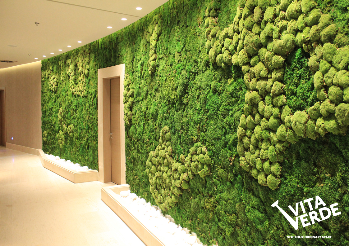 Easy To Install U2013 The Installation Of Moss On The Wall Or The Artful Moss  Creation Is Fast And Easy Which Makes It Perfect If You Seek A Quick  Solution For ...